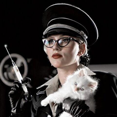 Scarlett Johnansson as Silken Floss in <i>The Spirit</i>.