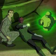 Hal Jordan and Abin Sur.