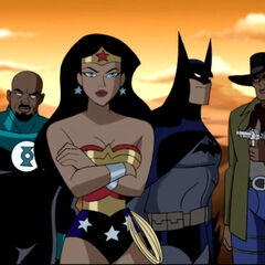 The Justice League gets stranded in the Wild West.