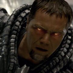 General Zod using <a href=