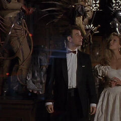 Knox and Vale in Wayne Manor.