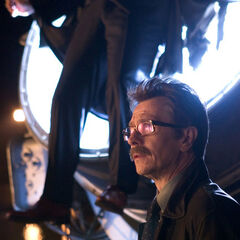 Gary Oldman as James Gordon
