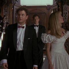 Bruce Wayne finds Knox and Vale looking around Wayne Manor.