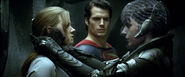 Lois, Superman and Faora