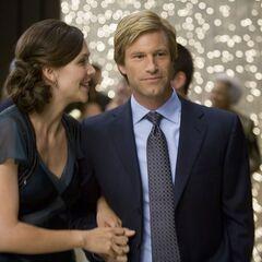 Rachel Dawes with Harvey.