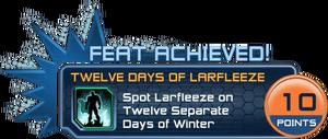 Feat - Twelve Days of Larfleeze