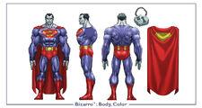 Bizarro body color
