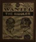 Riddler Wanted Poster