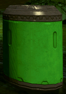 Toxic waste drum Bludhaven