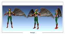 DC ren icnChar Hawkgirl multi