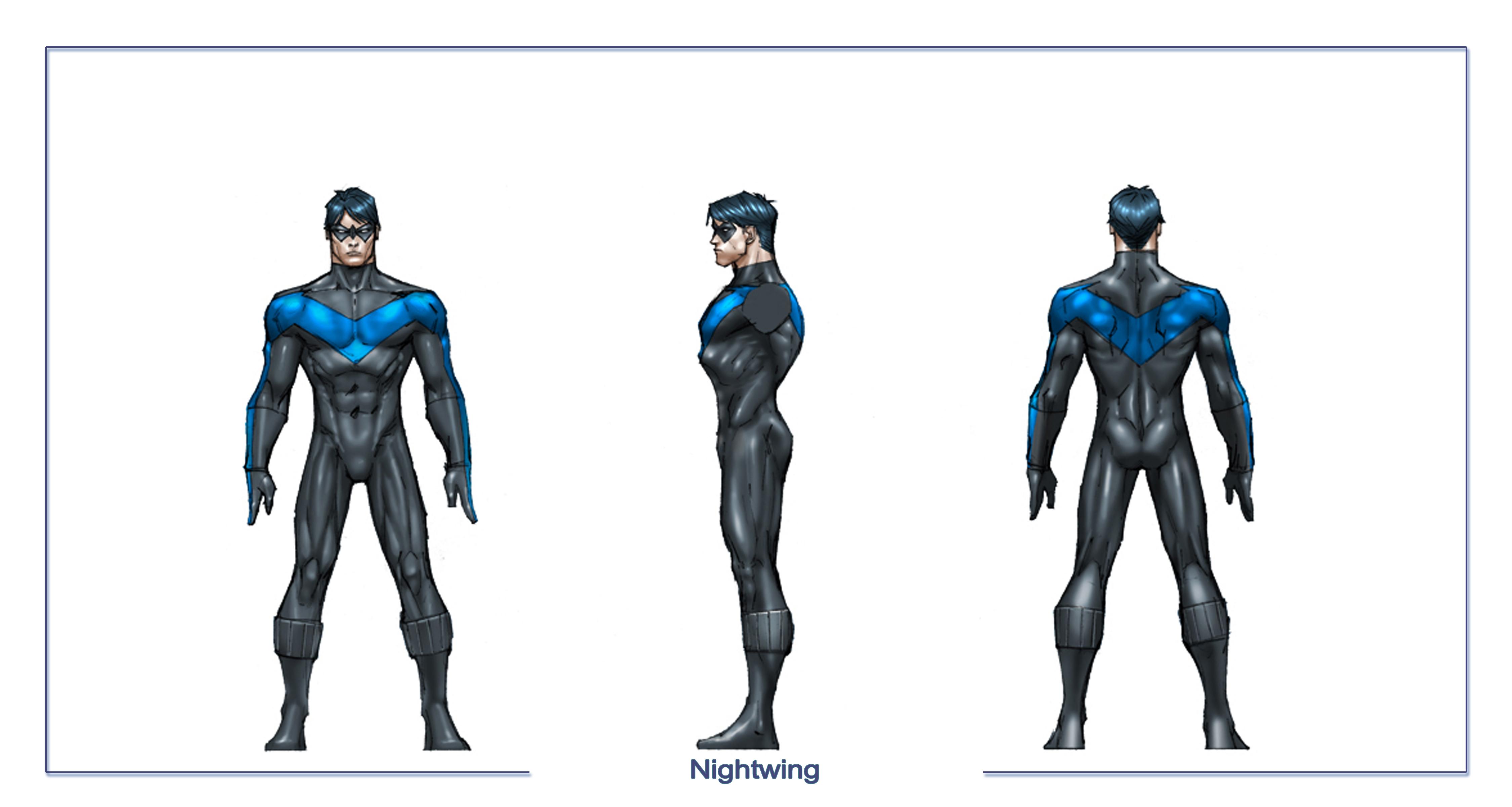 Nightwing Costume For Kids Nightwing body