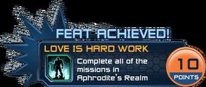 Feat - Love is Hard Work