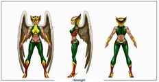 Hawkgirl body
