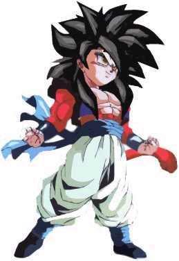 Super Saiyan 4 & 5 Gotenks - Xenoverse Mods