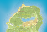 Detaillierte Karte vom Blaine County (Zum Vegrößern auf die Karte klicken)