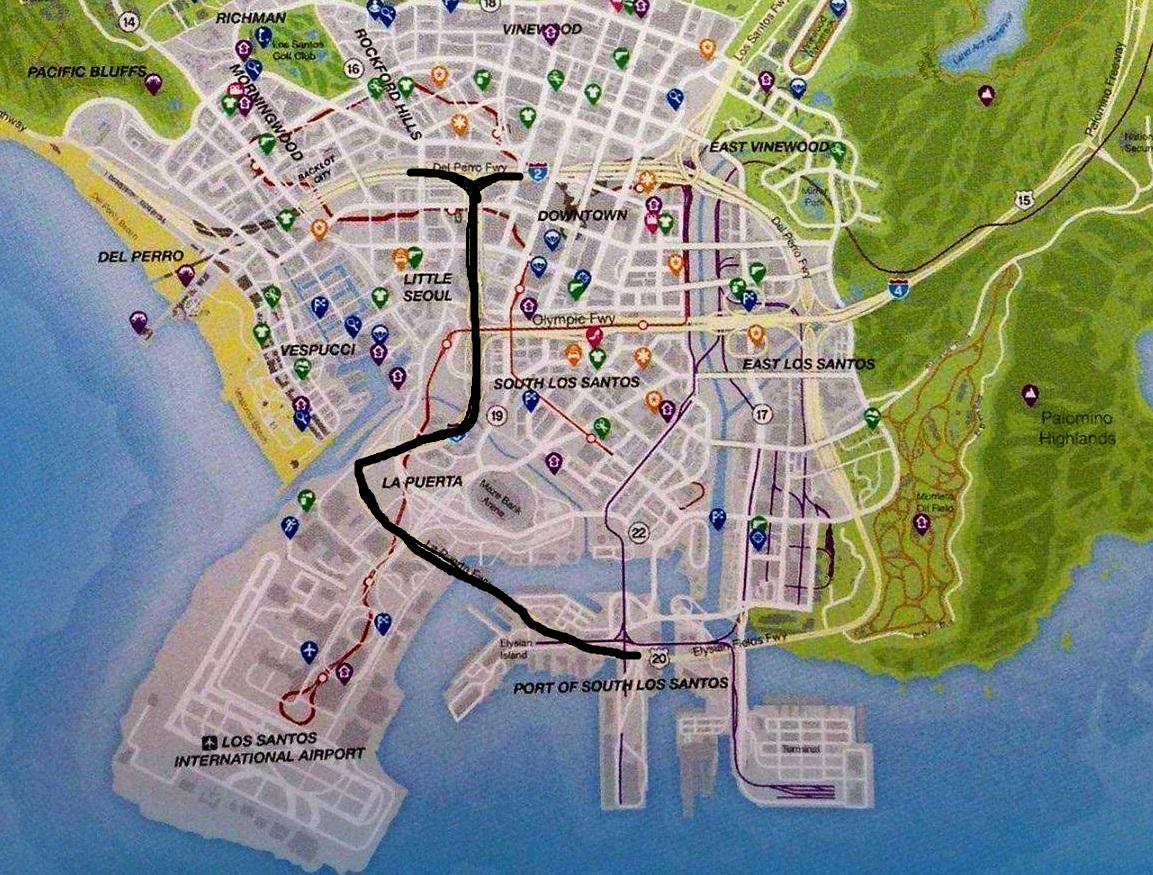 Gta 5 Geldtransporter Finden Karte