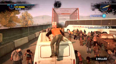 Dead rising 2 Case 0 quarantine zone jumping from vehicles (12)