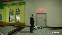 Dead rising maintence tunnel door entrance plaza