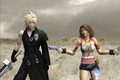Cloud and Yuna