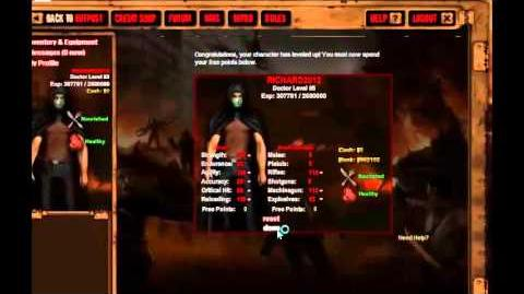 Dead Frontier 3D Level 65 Stat Reset