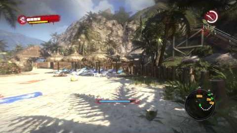 Dead Island - Blue Skull Location & Drop Off