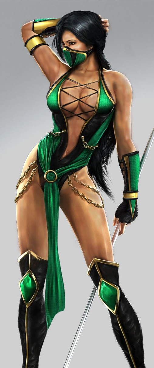 Apologise, but Mortal kombat jade follando curious