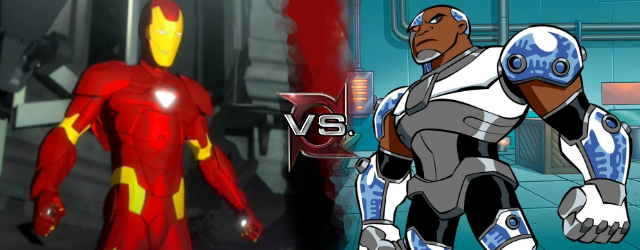 Beetle Iron Man Iron Man aa vs Cyborg tt