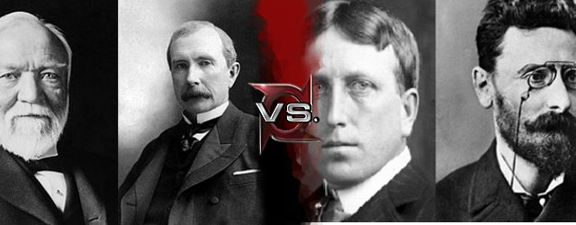 john d rockefeller and andrew carnegie essay An essay or paper on captains of industry or robber barons captains of industry or robber barons there are many powerful andrew carnegie, john d rockefeller.
