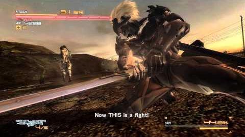 Metal Gear Rising Sam Boss Fight HD