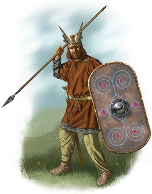 Germanic Warrior JS German