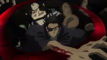 Senji kills Mozuri and Shinagawa HD