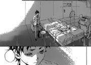 Ganta at hospital with Shiro