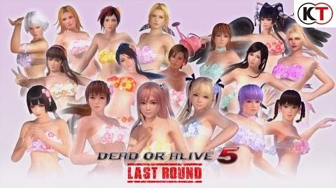 DEAD OR ALIVE 5 LAST ROUND - FLOWER SET TRAILER-0