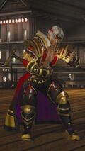 DOA5LR Samurai Warriors Costume Brad Wong