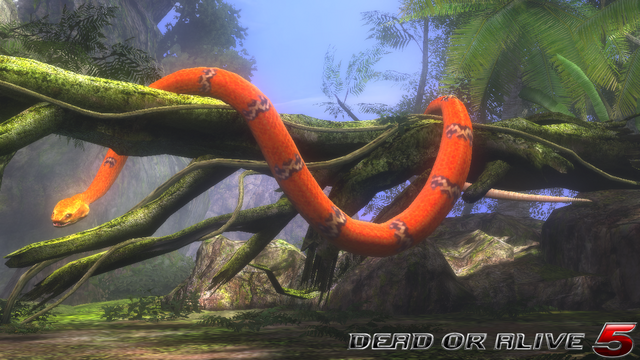 File:DOA5LR - Primal - Snake - screen by AdamCray and AgnessAngel.png