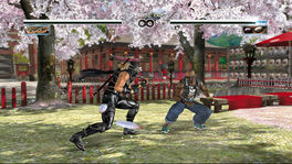 DOA4 Story- Hayabusa VS Zack