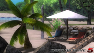 DOA5LR - Zack island2 - screen by AdamCray and AgnessAngel