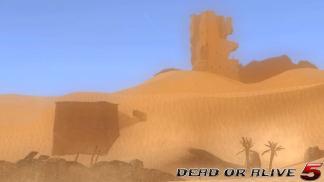 File:DOA5LR - Desert Wasteland1- screen by AdamCray and AgnessAngel.png