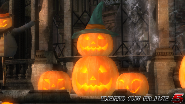 File:DOA5LR - Haunted Lorelei - Pumpkins - screen by AdamCray and AgnessAngel.png