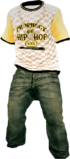 Dead rising Hip Hop Outfit