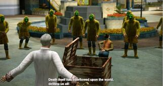 Dead rising sean and cultists (2)