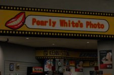 Pearly White's Photo Sign