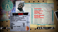 Dead Rising antoine notebook