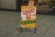 Dead Rising sign in front of rafeals shoes