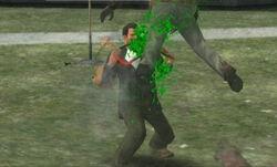 Green zombie blood