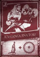 Exsanguinator scratch card