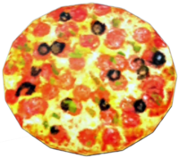 Dead rising Cooked Pizza