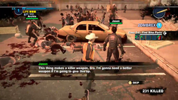 Dead rising 2 case 0 Handle With Care no broadsword (13)