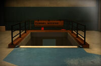 Dead rising tunnel access