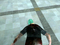Dead rising paint on zombie (2)